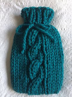 This Super Chunky Hot Water Bottle Jumper Is Warm And Snuggly And
