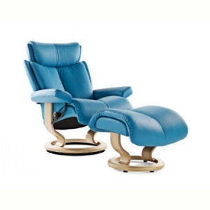 Large Magic Recliner Ottoman By Ekornes Stressless Denmark Interiors In Fort Myers And Naples Florida Contemporary Modern Furniture Priced