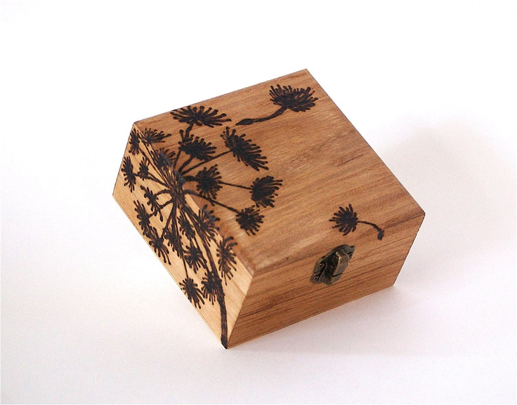 Fairy Wishes Personalized Ring Bearer Wooden Box or Keepsake Wedding Favor or Jewelry Box.