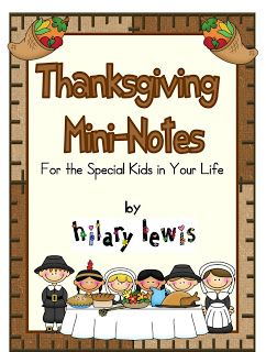 FREEBIES! These little Thanksgiving notes are a great way to let your kids know how thankful you are for them. They also remind the children to be thankful for things in their lives. To see what's inside, check out this blog post. All Grades