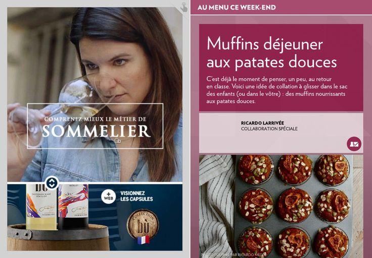 Muffins déjeuner auxpatates douces - La Presse+