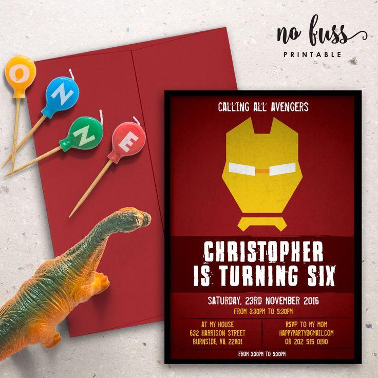 Best 25+ Ironman birthday parties ideas on Pinterest   Captain ...