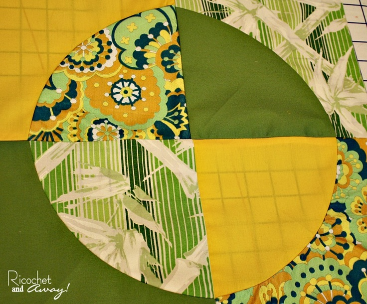 Ricochet and Away!: Curved Seams Challenge WIP Update