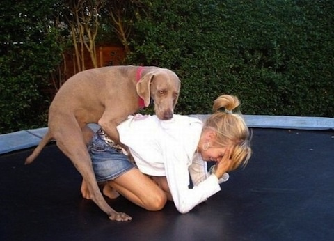 Doggy style sex position!
