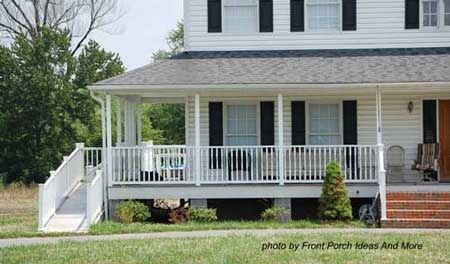 52 best images about wheel chair ramps and porches on for Handicap homes