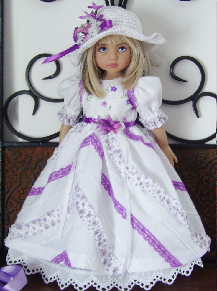 Dress set made For Effner Little Darling Dolls: