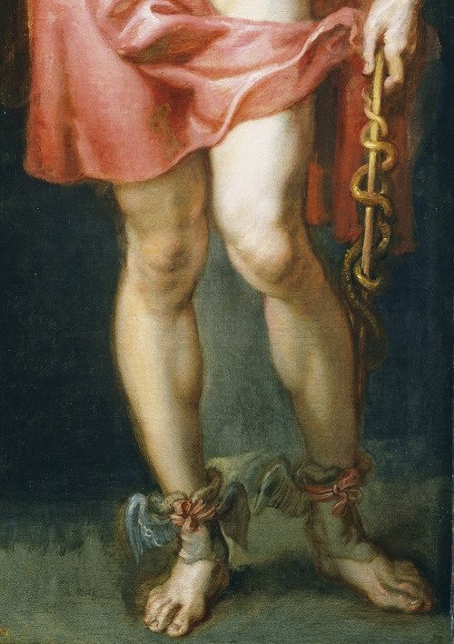 Peter Paul Rubens. Detail from The God Mercury, Painted for the Torre De La Parada.