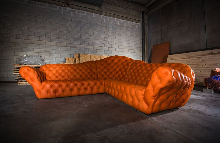 super divana sofa'. by romeo orsi made in italy
