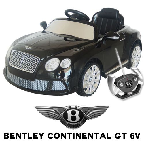 official bentley continental gt 6v kids electric car 19995 kids electric cars little cars for little people kids electric ride on cars pinterest