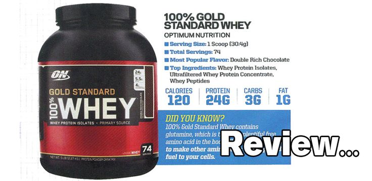 Optimum Nutrition Gold Standard 100% Whey a honest review of one of the most popular protein supplements ever.