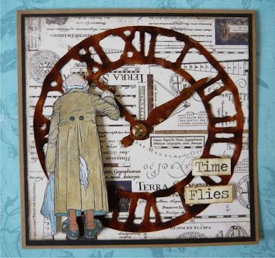 Tim Holtz clock die