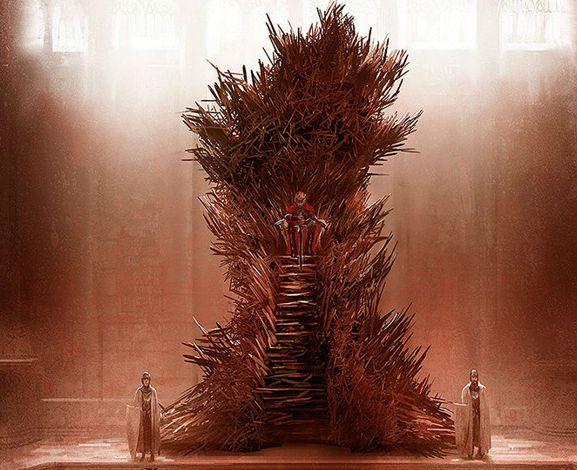 Game of Thrones (GOT) example #150: Marc Simonetti Iron Throne   (Game of Thrones ASOIAF)