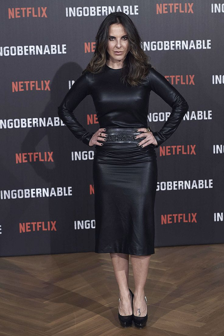 Kate del Castillo attends a photocall for Netflix's 'Ingobernable' in Madrid - March 28, 2017