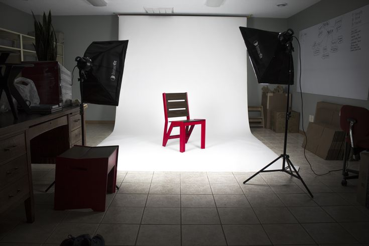 360Five Designs red dining chair photo shoot.