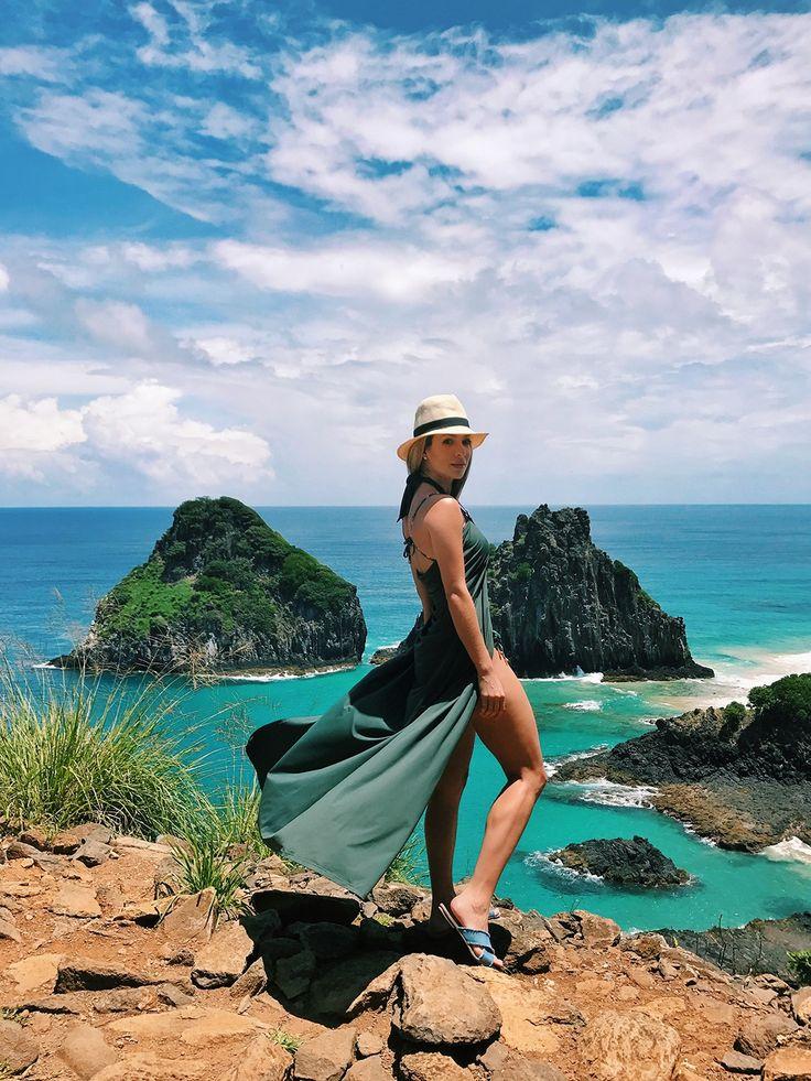 Helena Lunardelli dá dicas do que fazer em Fernando de Noronha, passeios e lugares para conhecer