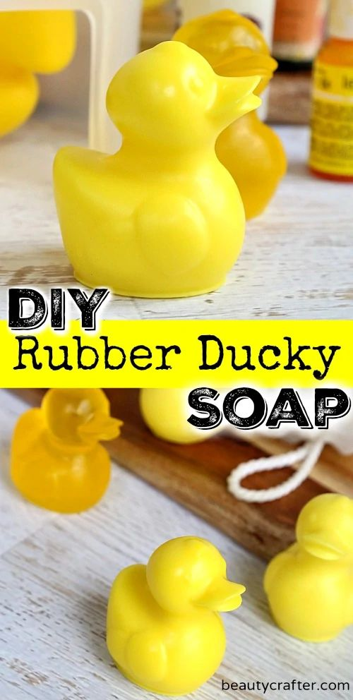 Rubber Ducky Soap DIY