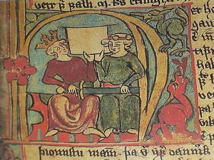 Håkon Håkonsson og sønnen Magnus portrettert i manuskriptet Flateyjarbok (cirka 1390). Oslos betydning som kongelig residensby økte under Håkon 5. Dette kan sees som en følge av den nyorientering i utenrikspolitikken mot sør som hadde begynt å gjøre seg gjeldende alt fra Håkon Håkonssons tid midt på 1200-tallet. Tidligere hadde interessen vært rettet mot vest i forsøk på å bygge ut og styrke kontrollen over de norske kolonisasjonsområdene på den andre siden av Nordsjøen.