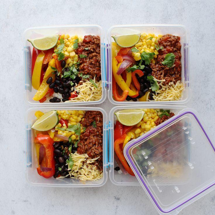 Taco Mealprep voor vier dagen | Personal Body Plan