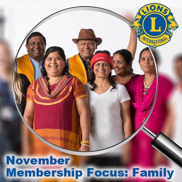 November Membership Focus: Family lion.ly/Ouxyc