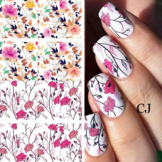 17 best Nail art stickers images on Pinterest   Nail art stickers ...