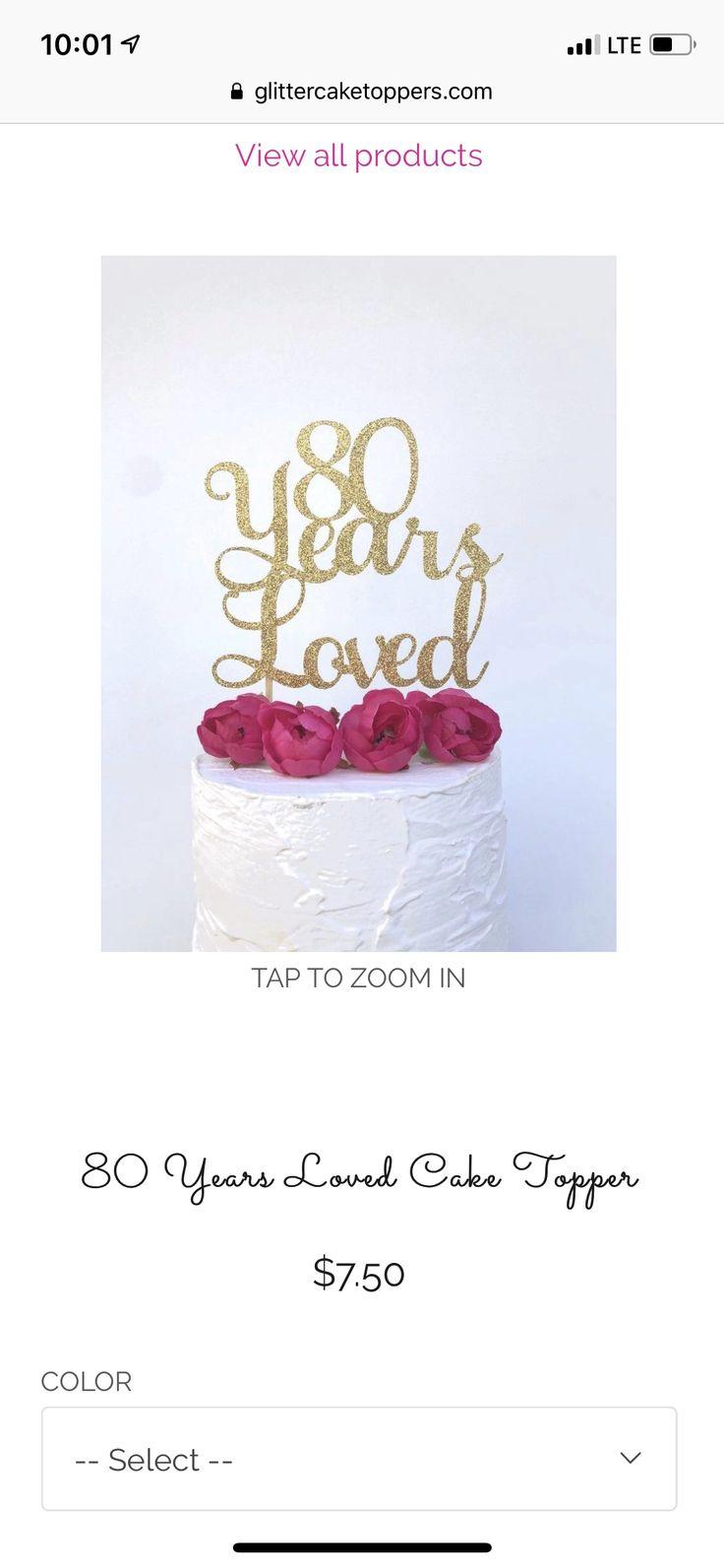 80th birthday ideas happy 80th birthday eighty cake