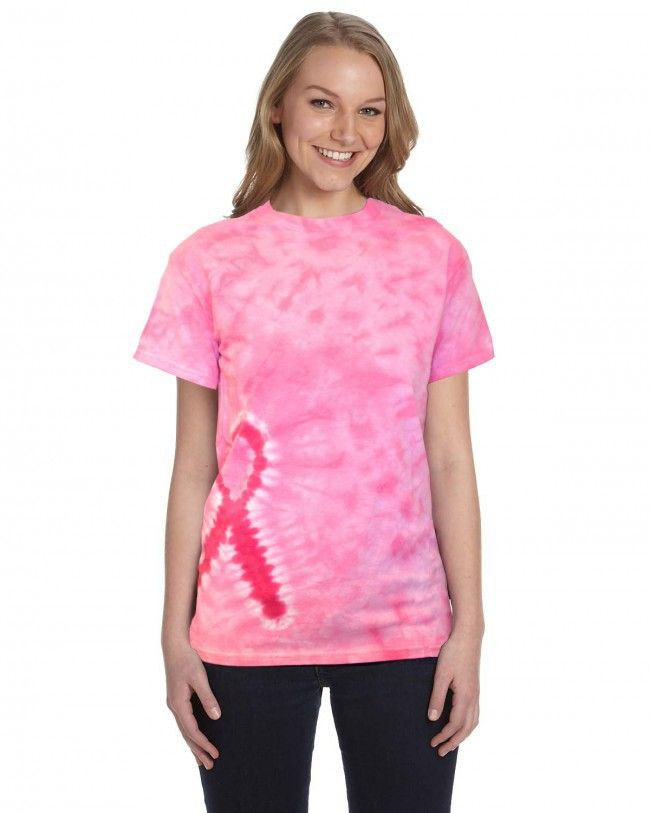 Port Accessible Short Sleeve Chemotherapy Shirt with Pink Ribbon - Survivor Room