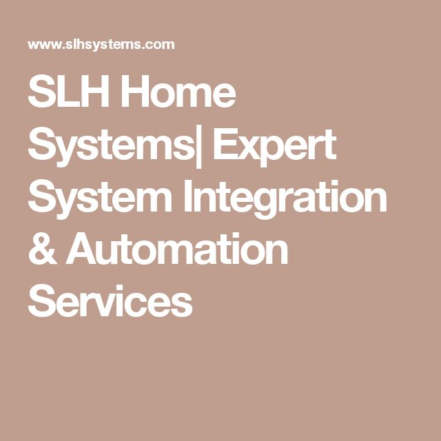 SLH Home Systems| Expert System Integration & Automation Services