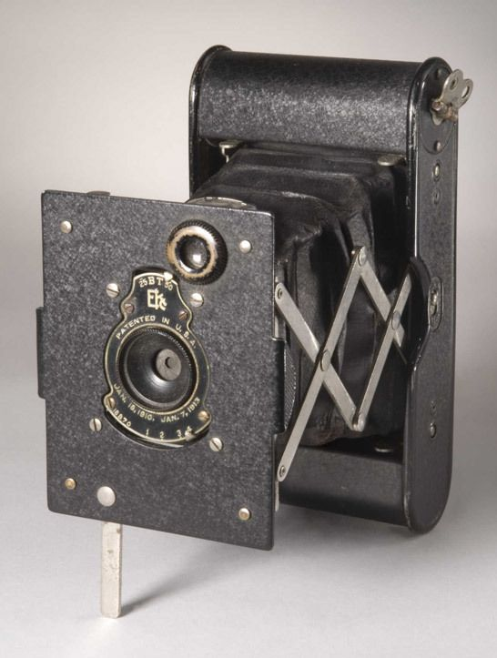 The idea of a compact camera, small enough to slip conveniently into your pocket, may seem like a fairly recent innovation. However, like most things in photography, the idea has been around for a lot longer than you might think.  One of the first and most successful 'compact' cameras appeared 100 years ago, in April 1912.