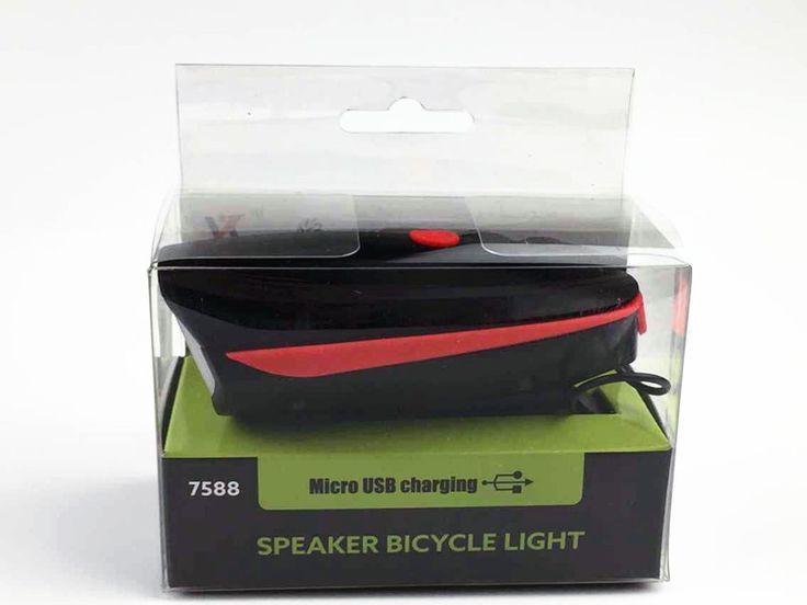 Biking Electric Horn & Super Bright Headlight