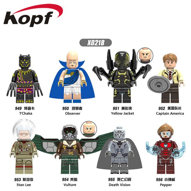 Cloth Cape x 1 Dark Blue High Quality Custom Cape for Lego Minifigure
