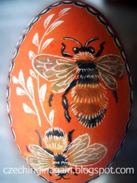 Beautifully decorated egg - Czech Republic