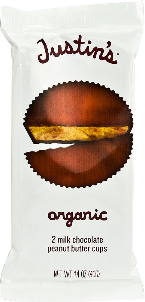 Justin's Organic Milk Chocolate Peanut Butter Cups-These things taste soooo good!!