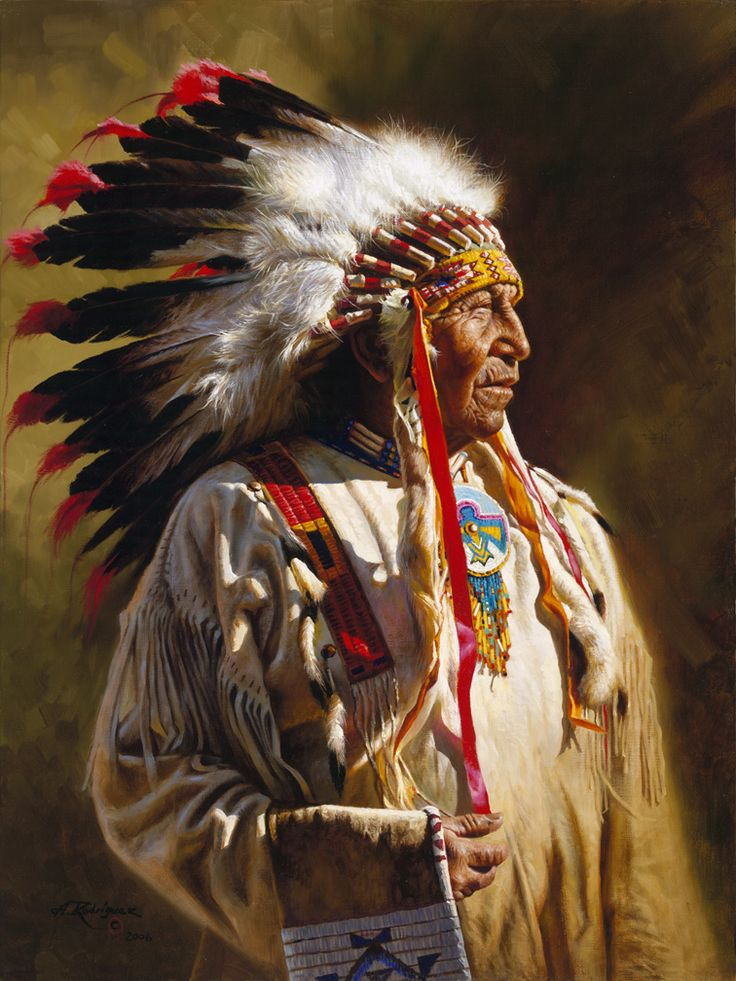Treat the earth well. It was not given to you by your parents, it was loaned to you by your children. We do not inherit the Earth from our Ancestors, we borrow it from our Children. ~ Ancient Indian Proverb (Profile of a Chief ~ painted by Alfredo Rodriguez)