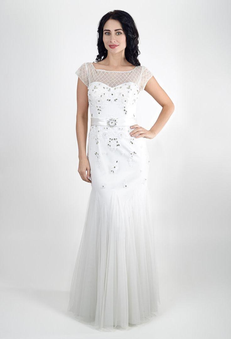 Вечернее платье белое   Dress white