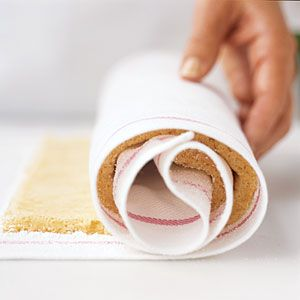 How To Roll A Jelly-Roll Cake | Step Four | CookingLight.com