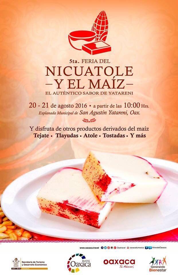 5ta. Feria del Nicuatole y El Maíz | Curiosidades Gastronómicas