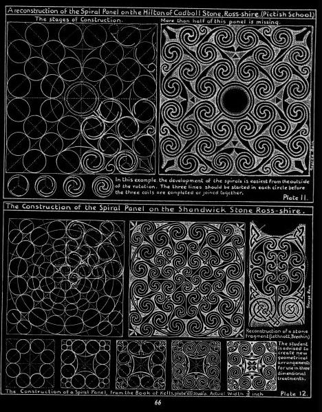George Bain -Methods of Construction in Celtic Art, 1996. http://www.amazon.co.uk/gp/product/B00NPMLU6S/ref=as_li_tl?ie=UTF8&camp=1634&creative=19450&creativeASIN=B00NPMLU6S&linkCode=as2&tag=a4nuk-21