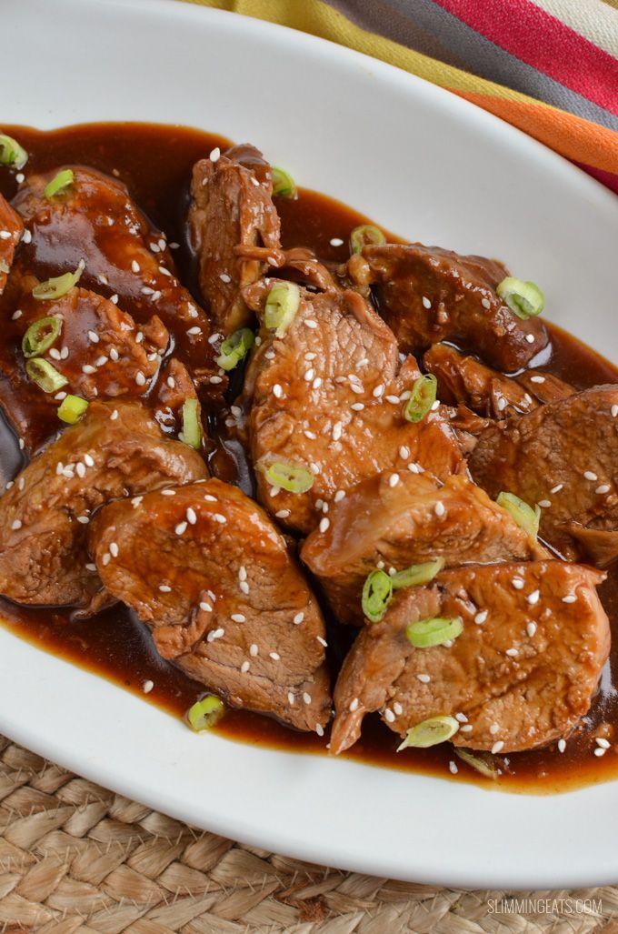 Slimming Eats Instant Pork Teriyaki Pork Tenderloin ...