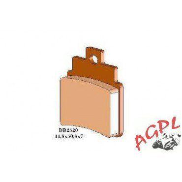 KYMCO 250 KXR 300 MAXXER 250 MXU PLAQUETTES DE FREIN TECNIUM ARRIERE-FRDB2520QDN: Ces plaquettes en métal fritté (SINTER) garantissent un…