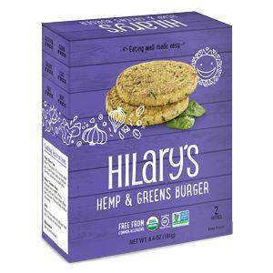 Hilary's Hemp & Greens Veggie Burger