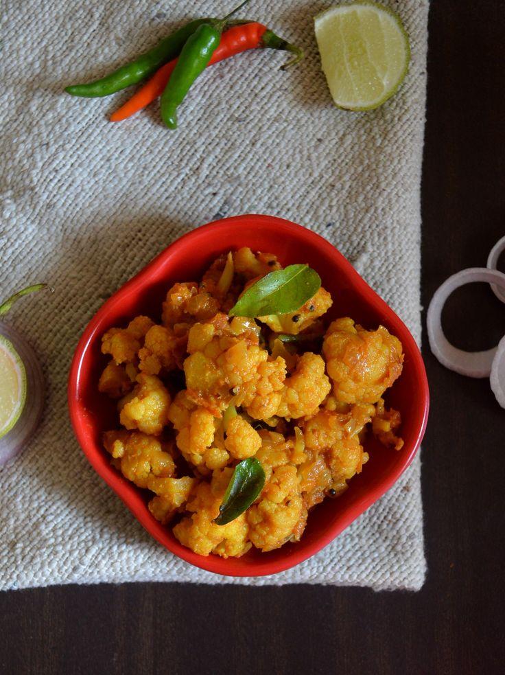 Cauliflower Poriyal   South Indian style Gobi ki sabzi   Gobi ki Sabji