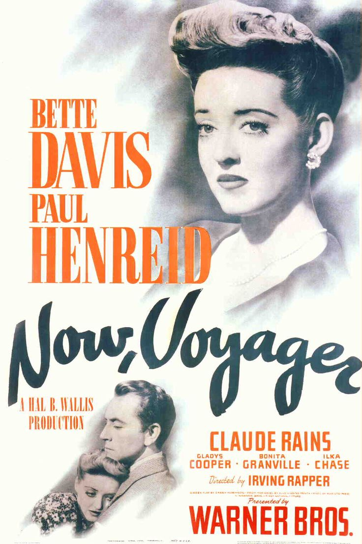 Now, Voyager (1942). This is a must see for any carer or those in contact with a carer. This is a story of a daughter who is her mothers carer, but the mum is very manipulative and controls her daughters life. It's the story of the daughters journey to freedom.