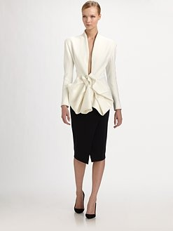Donna Karan - Couture Bow Jacket. Gorge