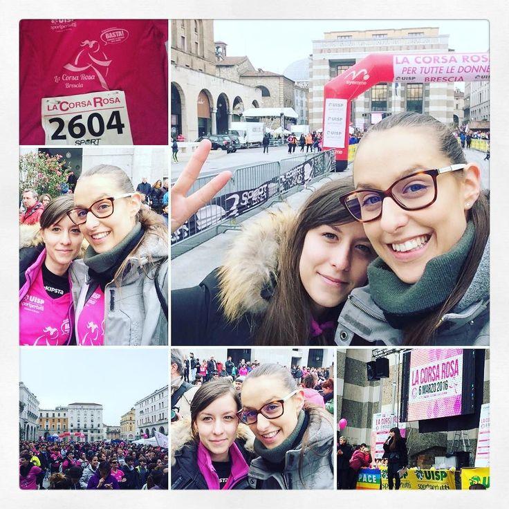 Noi c'eravamo  #corsarosa2016 #running #thinkpink #6500donneinrosa #brescia #piazzavittoria #uisp #imagetimeagency #missinrosa #tbt #instalike #instamood #instalove by jexie90bs