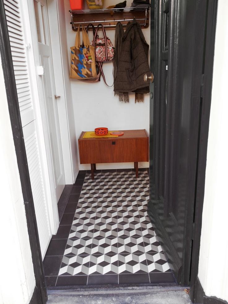 1000 images about hallway ideas on pinterest hard wood for Tiled hallway floor ideas