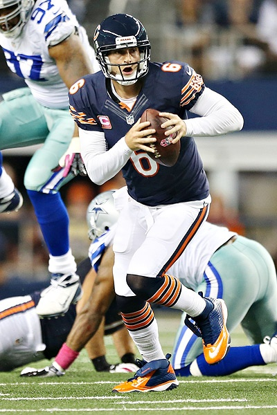 Football - Jay Cutler of the Chicago Bears (by Mr. Smith)