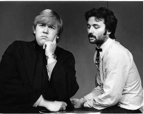 John Candy and Bill Murray, Second City, c. 1973.