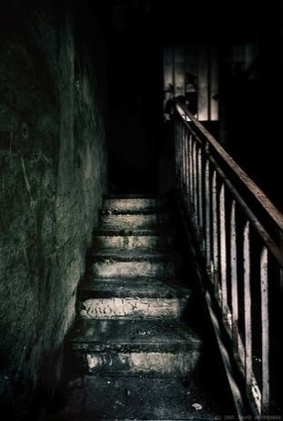Merely looking at those creepy stairs was enough to send a shiver down my spine…