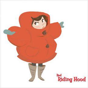 Red Riding Hood, curta do programa de talentos Disney