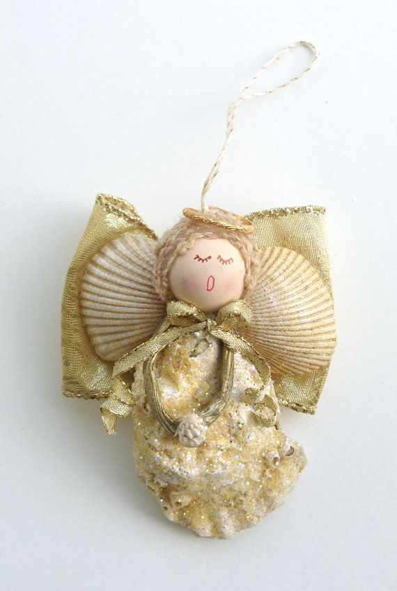 283 best images about beach on pinterest starfish shell for Seashell ornament ideas